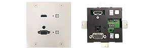 HDMI/アナログRGB対応  <br>ツイストペアケーブル延長器